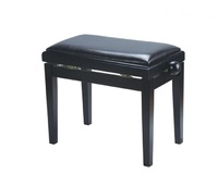 Rin HY-PJ018B-GLOSS-BLACK Банкетка, черный/черный, вельвет