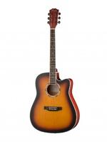 Foix FFG-2041C-SB Акустическая гитара, санберст