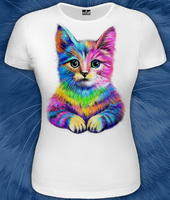 GooD футболка ( 35-2792) Флюра котенок