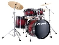 Sonor SEF 11 Stage 1 Set Red Sparkle Burst Ударная установка