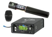 Lectrosonics UCR100-HH  (537-563МГц) радиосистема с ручным микрофоном. Компактный приемник UCR100-21, ручной передатчик HH B1, + капсюль конден.