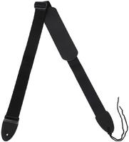 STAGG SN5 BLK - плетеный нейлоновый ремень для гитары, длина 82-141 см, черного цвета