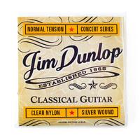 Dunlop DCV120 Concert Комплект струн для классической гитары, посребр.медь, 28-43