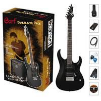 Cort CGP-X1-BK Гитарный комплект