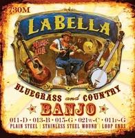 La Bella 730M-BE Banjo Комплект струн для 5-струнного банджо