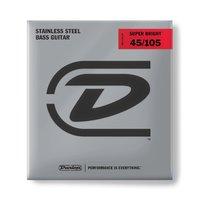 Dunlop DBSBS45105 Super Bright Комплект струн для бас-гитары, нерж.сталь, Medium, 45-105