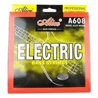 Alice A608(5)-M Medium Комплект струн для 5-струнной бас-гитары, сталь/сплав никеля, 045-130
