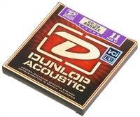 Dunlop DAB1152 Комплект струн для акустической гитары, бронза 80/20, Medium Light, 11-52