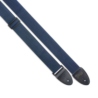 STAGG SN5 BLU - плетеный нейлоновый ремень для гитары, длина 82-141 см, синего цвета