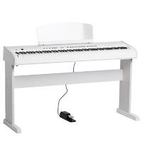 Orla 438PIA0713 Stage Concert Цифровое пианино, белое, со стойкой