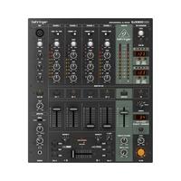 Behringer DJX900USB -микшер DJ, 5-канальный, VCA кроссфейдером, цифровые эффекты,USB/аудио интерфейс
