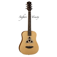 Luna SAF TRI- акустическая гитара 3/4