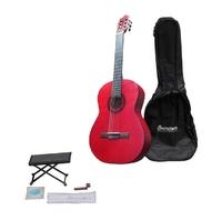 BARCELONA CG11K/RD Классическая гитара (Подарочный набор)