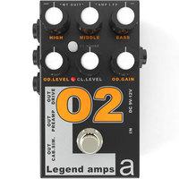 AMT O-2 (Orange) - гитарный преамп