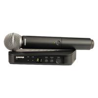 SHURE BLX24E/B58 M17 662-686 MHz - вокальная радиосистема с капсюлем динамического микрофона BETA58