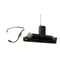 SHURE BLX1288E/SM31 M17 662-686 MHz двухканальная радиосистема с головным микрофоном SM31FH и ручным