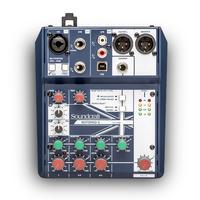 Soundcraft Notepad-5 - компактный 5-канальный микшерный пульт