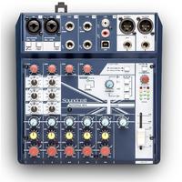 Soundcraft Notepad-8FX - компактный 8-канальный микшерный пульт