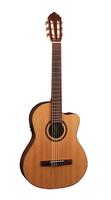Cort  AC160CFTL-NAT Classic Series Классическая гитара со звукоснимателем, с вырезом