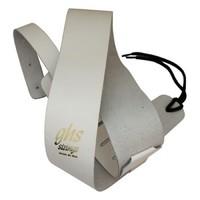 GHS A10W Гитарный ремень - кожа, белый