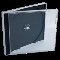 CD-BOX ОДИНАРНЫЙ ПРОЗРАЧНЫЙ (200)
