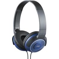 JVC Наушники накладные портативные, модель HA-S220-A-E. Цвет: синий
