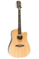 EXCALIBUR EF-310CFM гитара акустическая дредноут с вырезом