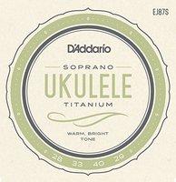 D'Addario EJ87S D'ADDARIO EJ87S Набор 4 струны для укулеле сопрано
