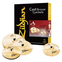 Zildjian A Custom 4 Pack Matched set набор тарелок