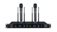 LAudio LS-Q7-2M Двухканальная вокальная радиосистема, 2 ручных передатчика