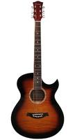 Caraya C901T-BS Акустическая гитара, с вырезом, санберст