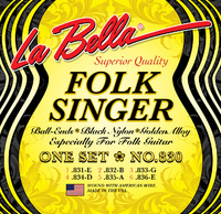 LA BELLA 830 Комплект струн для классической и фолк гитары