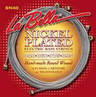La Bella SN40 Комплект струн для 4-струнной бас-гитары 40-95