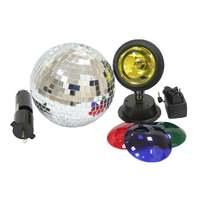 Involight SL0152 дискотечный набор зеркальный шар