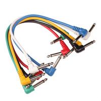 ALPHA AUDIO Basic Line Patch Cable 0,3 m инструментальный патч-кабель 2х6,3mm Angled mono jack plug