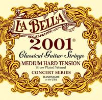 La Bella 2001MH 2001 Medium Hard Комплект струн для классической гитары, ср-сильное натяж.