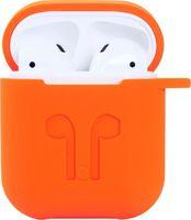 Чехол для AirPods/AirPods 2 Slim оранжевый
