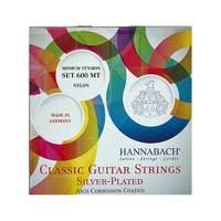 HANNABACH 600MT Silver-Plated Green струны для классической гитары