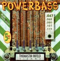 Thomastik EB345 Power Bass Комплект струн для 5-струнной бас-гитары, Medium Light, 47-119