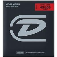 Dunlop DBN45105XL Комплект струн для бас-гитары, никелированные, Medium Light, 45-105, ExLong Scale