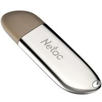 Netac U352 32Gb <NT03U352N-032G-20PN> Флеш Диск USB2.0, с колпачком, металлическая
