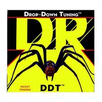 DR DDT7-10 Drop-Down Tuning Комплект струн для 7-струнной электрогитары, никелированные, 10-56