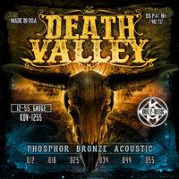 KERLY KDV-1255 Death Valley Phosphor Bronze Tempered, 12-55 Струны для акустической гитары