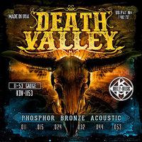 KERLY KDV-1153 Death Valley Phosphor Bronze Tempered, 11-53 Струны для акустической гитары