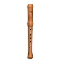 Mollenhauer 19137 Waldorf-Edition Блокфлейта сопрано, пентатоника, груша, 2 части, 432Гц