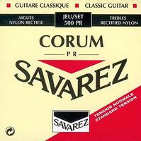 Savarez 500PR Corum Traditional Red standard tension струны для классической гитары
