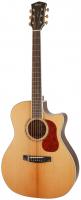 Cort Gold-A8-NAT Gold Series Электро-акустическая гитара, с вырезом, цвет натуральный