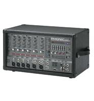 Phonic POWERPOD 620R Активный 6-и канальный микшерный пульт, 2х100Вт/4Ом