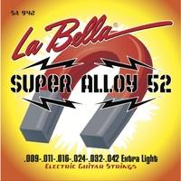 La Bella SA1046 Super Alloy 52 Комплект струн для электро-гитары