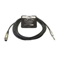 Invotone ACM1005S/BK - Микрофонный кабель, длина 5 м